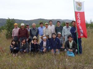 松尾2013.10.6植樹1